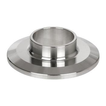 2-1/2 in. Short Weld Ferrule - 14WMP - 316L Stainless Steel Sanitary Fitting (3A)