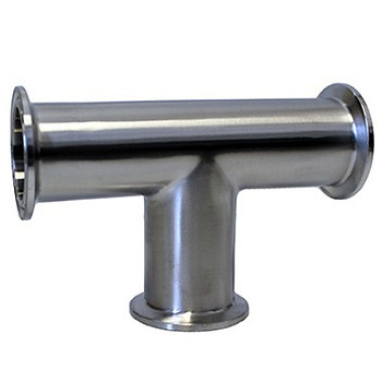 1-1/2 in. Tri-Clamp Tee, 304 Stainless Steel Tri-Clover Fitting, Brew Hardware