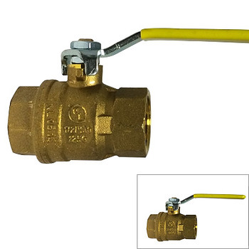 "1/4""  600 WOG, CSA Full Port Italian Ball Valve, Reversible Handle"