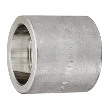 1/8 in. Socket Weld Half Coupling 316/316L 3000LB Forged Stainless Steel Pipe Fitting