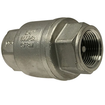 1/4 in. 800 WOG, In-Line Check Valve, High Capacity, Stainless Steel