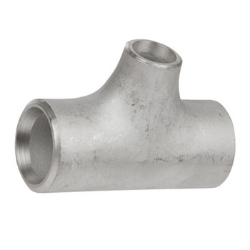 2 in. x 1 in. Butt Weld Reducing Tee Sch 40, 316/316L Stainless Steel Butt Weld Pipe Fittings