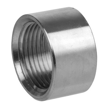 1/4 in. NPT Half Coupling 150# 316 Stainless Steel Pipe Fitting