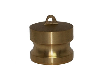 2-1/2 in. Type DP Dust Plug Brass Male End Adapter