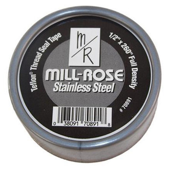 Mill-Rose Stainless Steel Thread Sealing Tape 3/4 in. x 260 in.