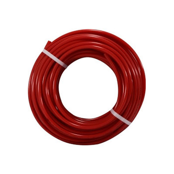 1/4 in. OD Polyurethane Red Tubing, 100 Foot Length