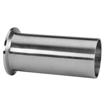 4 in. Tygon Hose Adapter (14MPHT) 316L Stainless Steel Sanitary Clamp Fitting (3-A)