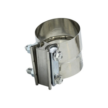 3.50 in. Stainless Steel Lap Joint Clamp, Exhaust Hose Clamp