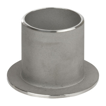 3 in. Stub End, SCH 10 MSS Type C, 316/316L Stainless Steel Weld Fittings