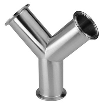 3 in. Clamp True Y (28BMP) 316L Stainless Steel Sanitary Fitting (3-A) View 1