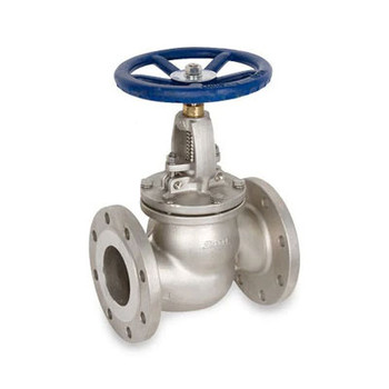 4 in. Flanged Globe Valve 316SS 150 LB, Stainless Steel Valve