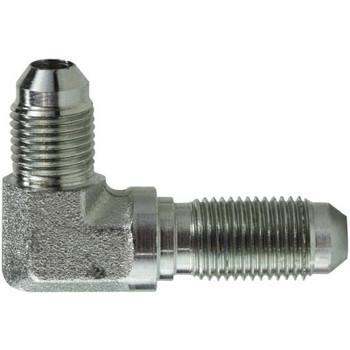 1-5/16-12 JIC x 1-5/16-12 JIC Steel Bulkhead Union Elbow Hydraulic Adapter
