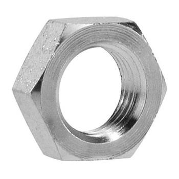 7/8 in. x 1-3/16-12 Steel Bulkhead Lock Nut Hydraulic Adapter