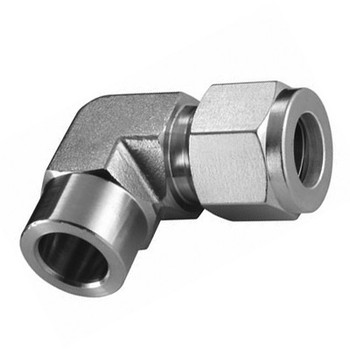 1/2 in. Tube x 1/2 in. Socket Weld Elbow 316 Stainless Steel Fittings Tube/Compression