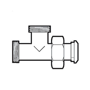 """1.5/"""" Sanitary 13H Hex Nuts For Bevel Seats"""
