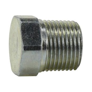 1/4-19 BSPT Plug Steel Hydraulic Adapter