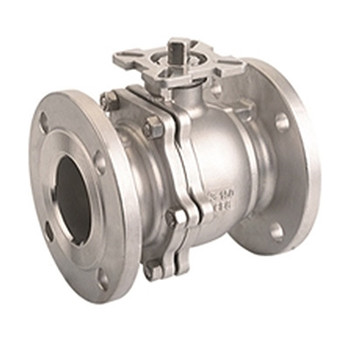 1 in. CF8M Flanged 2PC Full Port Ball Valve ANSI150 (Fire Safe)