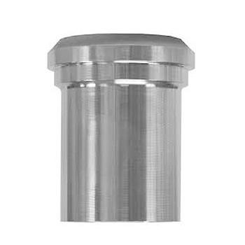 2-1/2 in. 14WL Plain Ferrule, Tank Spud (Light) (3A) 304 Stainless Steel Bevel Seat Sanitary Fitting