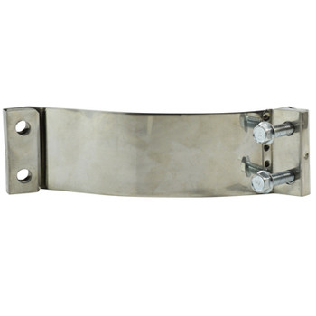 6 in. Easy Form Clamp, Stainless Steel Exhaust Clamp