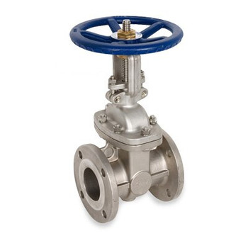 2-1/2 in. Flanged Gate Valve 316SS 150 LB, Stainless Steel Valve