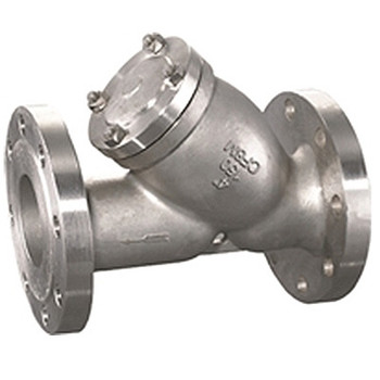 6 in. CF8M Flanged Y-Strainer, ANSI 150#, 316 Stainless Steel Valve