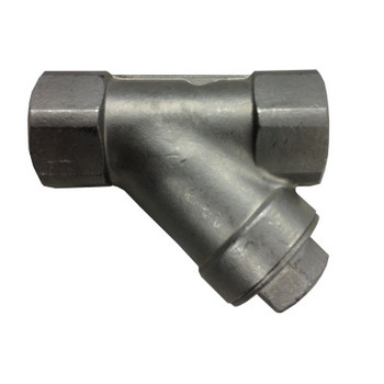 1 in. 800 PSI WOG, Y-Spring Check Valve, Stainless Steel