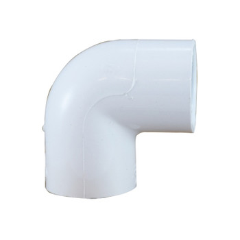 1/2 in. PVC Slip 90 Degree Elbow, PVC Schedule 40 Pipe Fitting, NSF 61 Certified