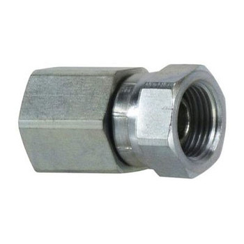 1 in. Female NPT x 3/4 in. Female NPSM Steel Pipe Swivel Adapter