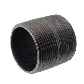 1-1/4 in. x Close Black Pipe Nipple Schedule 80 Welded Carbon Steel