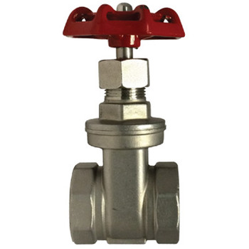 1 in. 200 PSI, Gate Valve, 316 Stainless Steel, NPT Threads