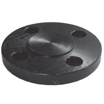 1-1/2 in. Blind Flange, 1/16 in. Raised Face, ASMTA105 Forged Steel Pipe Flange