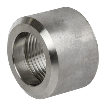 2 in. Threaded NPT Half Coupling 316/316L 3000LB Stainless Steel Pipe Fitting