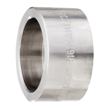 2-1/2 in. Socket Weld Cap 316/316L 3000LB Forged Stainless Steel Pipe Fitting