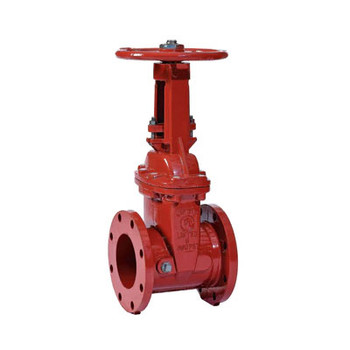 4 in. OS&Y Gate Valve 300PSI Flanged End UL/FM, NSF Approved Fire Protection Valve