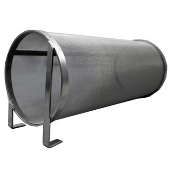 Hop Filter for Home Brew 6-1/6 in.- Diameter, 12-3/4 in.- Screen to Screen (14 in. Total Height), 300 Micron Mesh