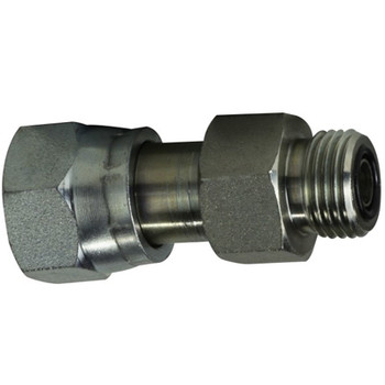 1-3/16-12 x 11/16-16 Female ORFS x Male ORFS Reducer, O-Ring Face Seal Hydraulic Adapters