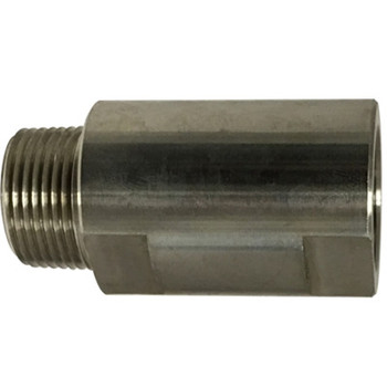 1/2 in. MNPT x FNPT Female Spring Check Valve, 1500 PSI WOG Working Pressure, 316 Stainless Steel