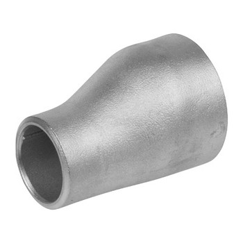 2 in. x 1-1/2 in. Eccentric Reducer - SCH 80 - 316/316L Stainless Steel Butt Weld Pipe Fitting