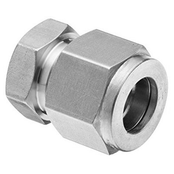 1 in. Tube Cap - Double Ferrule - 316 Stainless Steel Compression Tube Fitting