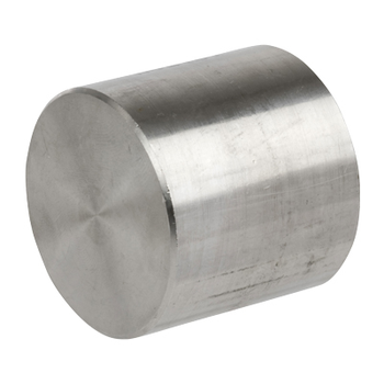 3 in. Threaded NPT Cap 316/316L 3000LB Stainless Steel Pipe Fitting