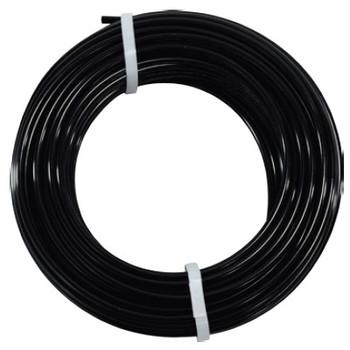 3/8 in. OD Nylon 12 Tubing, 100 Foot Length, Color: Black