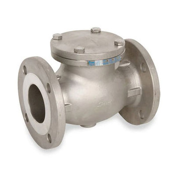 4 in. Flanged Check Valve 316SS 150 LB, Stainless Steel Valve