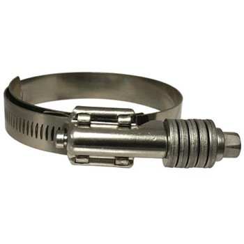 4-1/4 in. to 5-1/8 in. Clamping Range Constant Torque Stainless Steel Hose Clamps, SAE J1508 Type SLHD