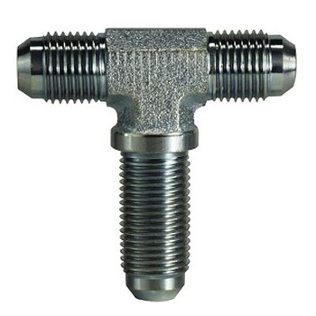3/4-16 JIC x 3/4-16 JIC Steel Bulkhead Branch Tee