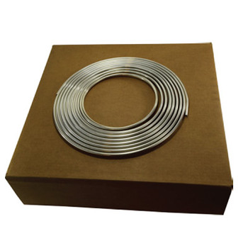 3/8 in. OD Aluminum Tubing, Easy Bend, Alloy 3003, Seamless, ASTM B483, 50 Foot Coil