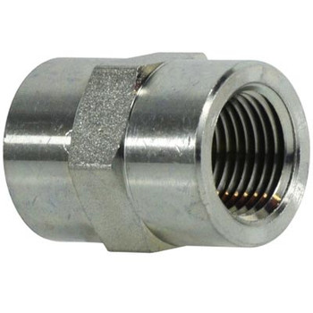 1/2 in. x 3/8 in. Pipe Coupling Steel Pipe Fitting