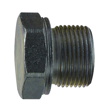 8 mm Tube Cap 24 Degree Inner Cone, DIN 2353 Metric, Steel Hydraulic Adapter
