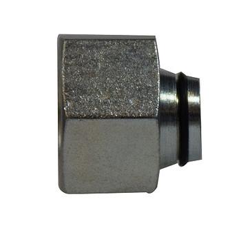 6 mm Tube Plug, Insert/Nut, DIN 2353 Metric, Steel Hydraulic Adapter
