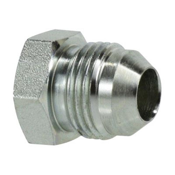 1/2 in. JIC Plug Steel Hydraulic Adapter Fitting
