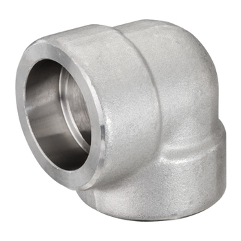 3 in. Socket Weld 90 Degree Elbow 316/316L 3000LB Forged Stainless Steel Pipe Fitting